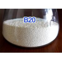 Quality Environmentally Friendly Ceramic Blasting Media Solid Round Ball High Toughness for sale
