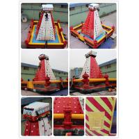 Quality Fire Inflatable Climbing Wall for sale