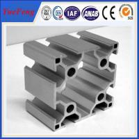 Quality 6063 t5 t slot Clear Anodizing industry extrusion Aluminum Profile for sale