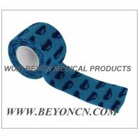Quality Cohesive Bandage with Printing SelfAdhesive Hign Tensile Strength Max Compression for sale