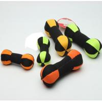 Quality Dumbbell Interactive Floatable Dog Toys Teeth Bite Dog Play Tug Oem Service for sale