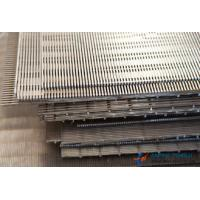 Quality SS304 & SS316 Series, Flat Wedge Wire Screen, 0.05mm-10mm Slot Hole for sale