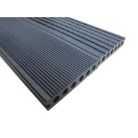 Quality Durable Grooved Hollow Plastic Decking Boards For Boardwalk / Playground for sale