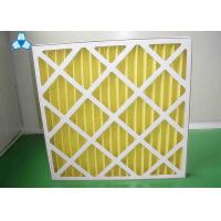 Quality Yellow Paper Pre Air Filter For Medium - Efficiency Filters Or Hepa Filters for sale