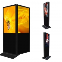 Quality 400cd/m2 43inch Free Standing Digital Signage 1920x1080 for sale