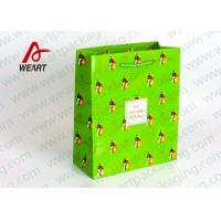 Quality Small Xmas Holiday Paper Gift Bags , Unique Personalized Halloween Paper Bags for sale