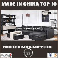 China Home Furniture Living Room Sets Leather Feather Sofa(LZ-717) on sale