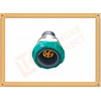 Quality Self Locking 5 Pin Waterproof Circular Connector / Push Pin Connector for sale
