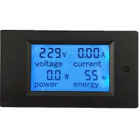China AC 80-260V/100A Volt Amp Meter AC Multi function Voltage Ampere Power Energy Tester on sale