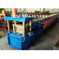 Buy Box Beam Upright Roll Forming Machine Warehouse with Pressing Combine Device at wholesale prices