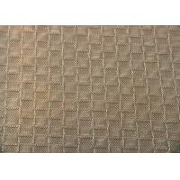Quality Reactive Dye Grid Jacquard Material Shrink - Resistant For Hometextile for sale