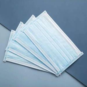 Quality Tri Player Disposable Sheet Earloop Mask for sale