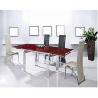 Buy Modern Dining Room Furniture Small Order extending glass dining table at wholesale prices