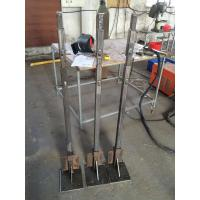 Outdoor Custom Aluminum Extrusion Upright / Poling / Upright Stanchion with Fabricating