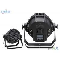 Quality 54*3 RGBW LED Par Stage Lights For Club / Wedding / Party / Night Bar for sale