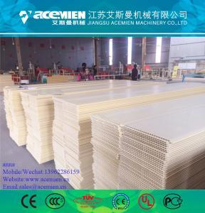 Quality PVC Wall Panel Production Line / PVC Wall Panel Board Production Line Extruder Making Machine for sale