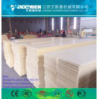 Quality  PVC Wall Panel Production Line / PVC Wall Panel Board Production Line Extruder Making Machine for sale