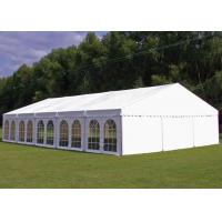 Quality PVC Tarpaulin Garden Party Tent , Outside Tent Weddings 5 M Bay Distance for sale