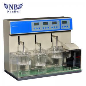 Quality 3 Vessels Disintegration Drug Testing Instrument Laboratory Medical Tablet for sale