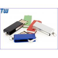 China Tiny Swivel Thumb Drives 16GB 32GB with Free Key Chain and Free Logo Printing on sale