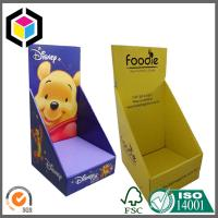 Quality Strong Quality Glossy Color Custom Print Corrugated Cardboard Display Stand Box for sale
