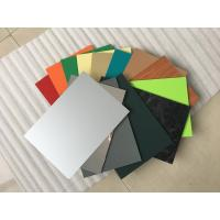 Buy High Intensity Polyester Aluminium Composite Panel , Aluminum Wall Panels Exterior  at wholesale prices