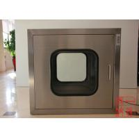 China Mechanical Interlock Industry Cleanroom Pass Box / Stainless Steel Passbox on sale