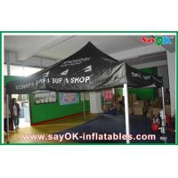 Quality Black Outdoor Folding Tent  , Giant Waterproof Tent With Aluminum Frame for sale