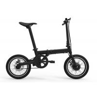 China Max 25km/H Folding Electric Bicycle 250W For Adult 16 Inch Frame 1320*580*980mm on sale