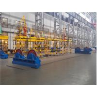 Quality Adjustable 180 Degree Rubber / Steel Pipe Rotators for Welding , CE ISO Approved for sale