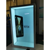 Quality Indoor 3840x2160 85in Transparent LCD Display IR Touch FCC for sale