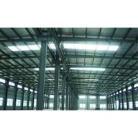 Quality High Corrosion Resistance Painting Steel Building Workshop , Structural Industrial Steel Buildings for sale