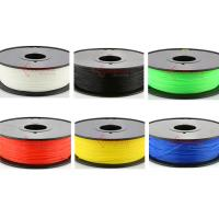 Quality 1.75mm 3mm Nylon filament,3D printer fllament for Makerbot,muti color,RoHS certificated. for sale
