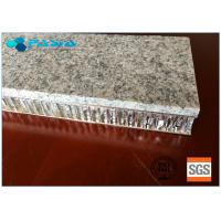 Quality 20 Mm Thickness Light Weight Onyx Honeycomb Stone Panels Small Radiation Pollution for sale