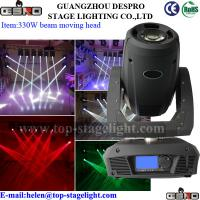 Buy cheap 15R 330W moving head sharpy beam light from wholesalers