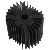 Quality Drilling Bronze Aluminum Notebook Cooler Heatsink Extrusion Profiles Industrial With CNC Machining for sale