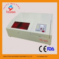 Quality 400 X 400mm mini laser engraving machine for small craft TYE-4040 for sale