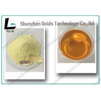 Quality Light Yellow Powder Tren Anabolic Steroid Methyltrenbolone For Muscle Gain for sale