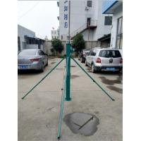 Quality 6m up to 18m telescopic antenna towers and lightweight antenna mast 2mm wall 6063 aluminum with tripod stand for sale