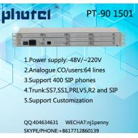 Quality 64 analogue users/400 SIP users PBX exchange system for sale