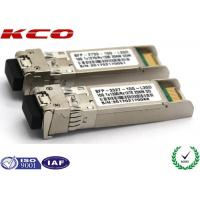 Quality 20KM LC SFP Module Single Mode Simplex With DDM 1310 1550nm Wave length for sale
