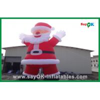 Quality Santa Claus Decoration Inflatable Cartoon Characters For Christmas for sale