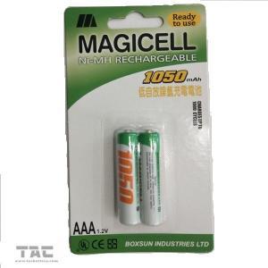 Quality 1.2v - 1.25v 1050MAH Ni MH Batteries for LED Light Long Cycle Life for sale