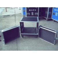 Quality Aluminum Frame Rack Flight Case 18U 9mm Plywood With 1 Mm Fireproof Wood for sale