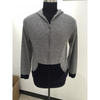 Quality Long Sleeve Men Knit Sweater Men Hooded Sweater For Autumn / Winter for sale
