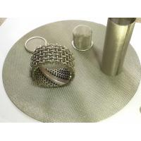 Quality Multiple Layered Stainless Steel Wire Mesh Filter , Round Filter Screen Mesh for sale