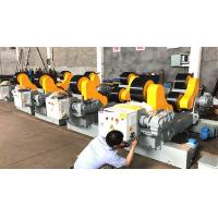 Quality 500 - 3500 Mm Tank 20T Pipe Welding Rollers With Motorized Moving Wheels for sale