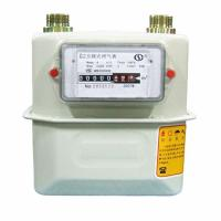 Quality Integrated Installation Prepaid Gas Meter Domestic Diaphragm With Metal Case for sale