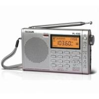 Quality TECSUN PL450 FM stereo SW MW LW PLL Shortwave Digital Full Band Portable Radio Synthesized Receiver for sale