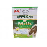 Quality Evaporated Milk Tablet Candy Pink / Yellow Zero Calorie Cow Milk Tablets for sale